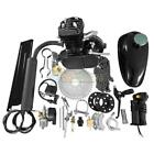 50cc 2 Stroke Gas Engine Motor Kit Motorized Bicycle Bike Black Single Cylinder