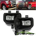 2015 2016 2017 Ford F150 Pickup Replacement Complete Bumper Driving Fog Lights