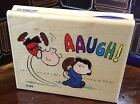 NEW Stampabilities Football CHARLIE BROWN LUCY 2001 Peanuts Wood Mounted Stamp