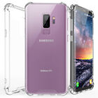 For Samsung Galaxy S9 S8 Plus Note 8 Ultra Thin Crystal Clear Hard Phone Case