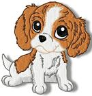 CUTE BABY CAVALIER 10 MACHINE EMBROIDERY DESIGNS CD 3 SIZES INCLUDED