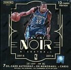 2015-16 PANINI NOIR HOBBY BASKETBALL SEALED BOX