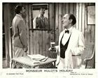 Monsieur Hulots Holiday original lobby card Jacques Tati looks in mirror