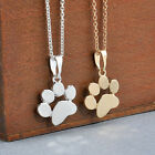 Women Fashion Cute Pets Dogs Footprints Cat Paw Pendant Chain Necklace Jewelry