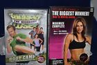 3 DVDs The Biggest Loser Boot Camp  The Biggest Winner Maximize Complete 2