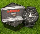 Casio G-Shock Black Resin Analog/Digital Mens Watch - GA-700-1BCR