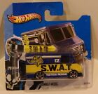 2013 Hot Wheels HW City SWAT Combat Medic ERROR Missing Interior Doors Window