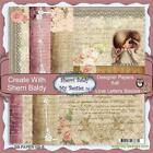 NEW My Besties SCRAPBOOK CARD PAPER PACK SET 6 X 6 LOVE LETTER free us ship