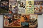LAURAN PAINE lot of 9 western pb CACHE CANON Lockwood RAIN VALLEY +