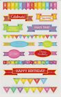Mrs Grossmans Giant Stickers Birthday Banners Reflections 2 Strips