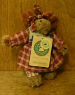 Boyds Plush Ornaments #56270 Mocha Mooseby New/Tag From Retail Store 5.5