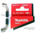 Makita CB51 Carbon Brushes for Planer Jigsaw Drill Sander Saw Part 181021-2