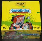 2016 GARBAGE PAIL KIDS PRIME SLIME TRASHY TV SEALED HOBBY BOX BONUS SKETCH PLATE