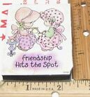 PRECIOUS MOMENTS FRIENDSHIP HITS THE SPOT FM RUBBER STAMP