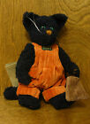 Boyds Plush #919700-01 SABRINA P CATTERWALL NEW/tag From Retail Store HALLOWEEN