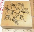 MAGNOLIA BLOSSOM LARGE 463 JJ BY EMBOSSING ARTS RUBBER STAMP
