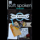 soft spoken My Family STICKERS PACK Red Birds Home Where Heart Is FREE USA SHIP