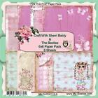 NEW My Besties SCRAPBOOK CARD PAPER PACK SET 6 X 6 PINK PINK free us ship