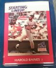 1988 Harold Baines Chicago White Sox  Unopened Starting Lineup Baseball Card