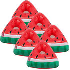6 Floating Watermelon Slice Drink Holders Cans Cups Bottles Pool Float Party