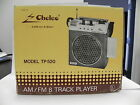 NEW!! Chelco Deluxe 8 Track Portable AM/FM Tape Player [Electronics]