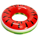 Giant 4ft Inflatable Watermelon Pool Ring Tube Float Fun Kid Swim Party Toy Raft