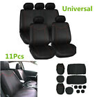 11x High Quality Universal Car Seat Cover Low Front Back Set Full Seat Cover Set