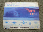 Vintage grant rohloff north swell vintage surf movie poster surfboard surfing