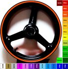 BRIGHT KTM ORANGE RIM STRIPES WHEEL DECALS TAPE STICKERS RC8R 1190 1290 DUKE ALL