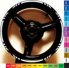 CUSTOM MOTORCYCLE RIM STRIPE WHEEL DECAL TAPE KAWASAKI NINJA ZX6R ZX7R ZX9R ZX6