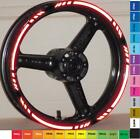 CUSTOM 3M REFLECTIVE RIM STRIPES WHEEL DECALS TAPE STICKERS SUZUKI GSX R 600 750