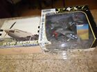 2 LOT LIBERTY DIECAST BANK P 51D MUSTANG WWII FIGHTER AIRPLANE  P 47 MOTOR MAX