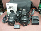 CANON REBEL T3 EOS 1100D 122MP DIGITAL SLR CAMERA PACKAGE 18 55AF 55 250AF