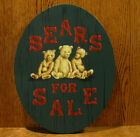 Tender Heart Treasures THT62530 BEARS FOR SALE 135 wood sign to hang