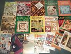 Lot of 28 Quilting Books Magazines and Leaflets and Patterns