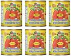San Marzano DOP Authentic Whole Peeled Plum Tomatoes 28 oz cans Pack of 6