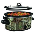 Crock pot SCCPVL500 MO Cook and Carry Oval Slow Cooker, 5 Quart Green