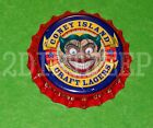 NEW CONEY ISLAND CRAFT LAGER ALE SCARY FACE CLOWN UNUSED BEER P L BOTTLE CAP