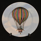FITZ & FLOYD FINE PORCELAIN SALAD PLATE ASCENSION BALLOONS II PATTERN 554