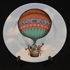 FITZ & FLOYD FINE PORCELAIN SALAD PLATE ASCENSION BALLOONS III PATTERN 553