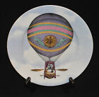 FITZ & FLOYD FINE PORCELAIN SALAD PLATE ASCENSION BALLOONS III PATTERN 555