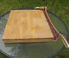 Vintage Wood INGENTO 1152 GUILLOTINE PAPER CUTTER 18 w Manual Slicer Trimmer