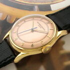 Mens 1940s Vacheron & Constantin 18K Solid Gold 4667 Caliber Vintage Swiss Watch
