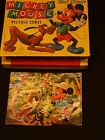 Vintage Box Walt Disney Mickey Mouse Picture Cubes Toy Building Blocks Germany