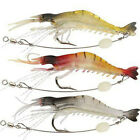 3 Pcs Minnow Baits Tackle Lot Kinds of Fishing Fishing Lures Crankbaits Hooks