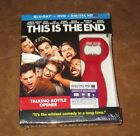 THIS IS THE END BLU RAY  DVD 2013 APOCALYPTIC COMEDY SEALED