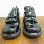 ELEFANTEN Girl Black Shiny Patent Leather Boots Booties Baby Shoe 22 65