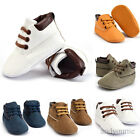 Newborn Baby Boy Girl Soft Sole Crib Shoes Warm Boots Anti slip Sneakers 0 18M Y