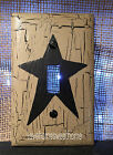 Black Star Single Light Switch Plate ~ Country Decor