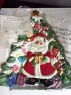 Fitz and Floyd 2000 Candy Lane Express Christmas Canape Plate